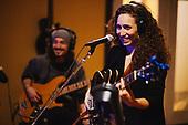 Moorea Masa recording Shine A Light