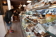 Inside the cafe Valeriana