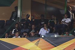 September 20, 2018 - Na - Lisbon, 20/09/2018 - Sporting CP received the Qarabag FK tonight at Alvalade Stadium, in the first match of Group E of the Europa League 2018/19. Emiliano Viviano, Luc Castaignos, Marcus Wendel, Jefferson, Bruno César, Marcelo Ferreira, Lumor, Josip Misic, Bas Dost  (Credit Image: © Atlantico Press via ZUMA Wire)