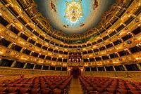 Teatro La Fenice (La Fenice Theater) opera house, Venice, Italy.