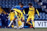 Alex Reid. Stockport County FC 0-0 Aldershot Town FC. Vanarama National League. Edgeley Park. 13.2.21