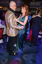 JOHN CAUDWELL and SARAH, DUCHESS OF YORK at The Butterfly Ball in aid of Caudwell Children held at the Grosvenor House, Park Lane, London on 25th June 2015