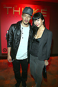 l to r: Dao-Yi Chow and Candice Chow at the Robin Thicke?s Album Release ' Something Else' with Exclusive Event at Rainbow Room sponsored by Target on September 20, 2008 in New York City.