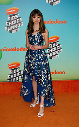 March 23, 2019 - Los Angeles, CA, USA - LOS ANGELES, CA - MARCH 23: Lauren Lindsey Donzis attends Nickelodeon's 2019 Kids' Choice Awards at Galen Center on March 23, 2019 in Los Angeles, California. Photo: CraSH for imageSPACE (Credit Image: © Imagespace via ZUMA Wire)