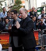 John Stevenson; Mark Osborne, Film premiere of Kung Fu Panda. Vue West End. Leicester Sq. London. 26 June 2008.  *** Local Caption *** -DO NOT ARCHIVE-© Copyright Photograph by Dafydd Jones. 248 Clapham Rd. London SW9 0PZ. Tel 0207 820 0771. www.dafjones.com.