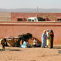 North Africa, Africa, Morocco. Daily life in traditional Morocco.