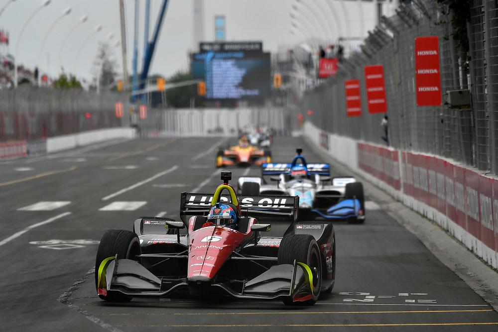 Robert Wickens, Schmidt Peterson Motorsports Honda<br /> Saturday 14 July 2018<br /> Honda Indy Toronto<br /> Verizon IndyCar Series<br /> Streets of Toronto ON CAN<br /> World Copyright: Scott R LePage
