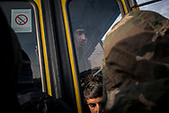 NGOs relocated about 40 minors that decided to move to a nearby camp where they will found warm shelters, showers and medical assistance. Buses for adults are expected tomorrow. Belgrade, Serbia. January 16th, 2017. Federico Scoppa