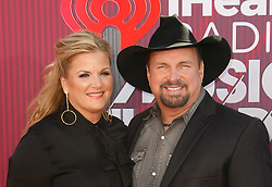 2019 iHeartRadio Music Awards which broadcasted live on FOX at Microsoft Theater on March 14, 2019 in Los Angeles, California. Photo: imageSPACE/MediaPunch. 14 Mar 2019 Pictured: Garth Brooks, Trisha Yearwood. Photo credit: imageSPACE / MEGA TheMegaAgency.com +1 888 505 6342