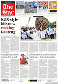 September 29, 2021 - AFRICA: Front-page: Today's Newspapers In Africa