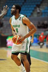 September 15, 2017 - Tunis, Tunisia - Diogu Ike(6)of Nigeria during the semi-final of FIBA AfroBasket 2017....Afrobasket 2017: Semifinal: Senegal eliminated by Nigeria who find Tunisia in the final  (Credit Image: © Chokri Mahjoub via ZUMA Wire)