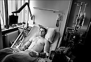 At the Landstuhl Military Hospital in Germany, wounded US military personel from all over the world come for treatment.<br /> Photo Ola Torkelsson<br /> Copyright Ola Torkelsson