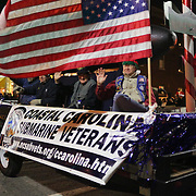 Coastal Carolina Submarine Veterans participate in the 12th Annual Wilmington Holiday Parade Sunday December 7, 2014 in Wilmington, N.C. (Jason A. Frizzelle)