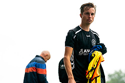 Tim Noltes of VV Maarssen in action. First friendly match after the Corona outbreak. VV Maarssen lost the away match against big league Spakenburg 5-1 on 4 July 2020 in Spakenburg.