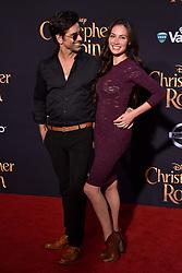 John Stamos, Caitlin McHugh attend the premiere of Disney's 'Christopher Robin' at Walt Disney Studios on July 30, 2018 in Burbank, Los Angeles, CA, USA. Photo by Lionel Hahn/ABACAPRESS.COM
