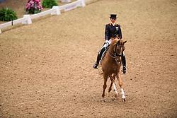 Van Baalen Marlies (NED) - BMC Miciano<br /> Grand Prix - Reem Acra FEI World Cup Dressage Qualifier - The London International Horse Show Olympia - London 2012<br /> © Hippo Foto - Jon Stroud