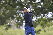 Derek Basquill (Enniscrone) during the second round at the Connacht Mid Amateur Open, Roscommon Golf Club, Roscommon, Roscommon, Ireland. 17/08/2019.<br /> Picture Fran Caffrey / Golffile.ie<br /> <br /> All photo usage must carry mandatory copyright credit (© Golffile   Fran Caffrey)