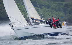 Sailing - SCOTLAND  - 26th May 2018<br /> <br /> DAY 2 Racing the Scottish Series 2018, organised by the  Clyde Cruising Club, with racing on Loch Fyne from 25th-28th May 2018<br /> <br /> 2336C, Shearwater, Garth and Erica Wilson, Fairlie Yacht Club, Moody 336<br /> <br /> Credit : Marc Turner<br /> <br /> Event is supported by Helly Hansen, Luddon, Silvers Marine, Tunnocks, Hempel and Argyll & Bute Council along with Bowmore, The Botanist and The Botanist