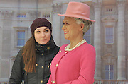 SHENYANG, CHINA - JANUARY 02: (CHINA OUT) <br /> <br /> Wax Replicas Of Queen Elizabeth II, look nothing alike the British Queen<br /> <br /> Picture shows the wax figure of British Queen Elizabeth II at a shopping mall on January 2, 2016 in Shenyang, Liaoning Province of China. The wax figures of British Queen Elizabeth II and Actor Mr. Bean were set to attract customers at a shopping mall in Shenyang. <br /> ©Exclusivepix Media