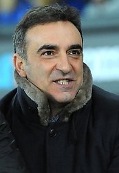 Swansea City manager Carlos Carvalhal looks on- Mandatory by-line: Nizaam Jones/JMP - 06/02/2018 - FOOTBALL - Liberty Stadium - Swansea, Wales - Swansea City v Notts County - Emirates FA Cup fourth round proper