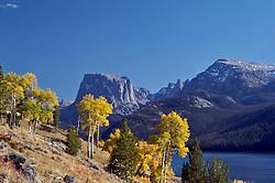 Green River Lakes, Fall, yellow aspen