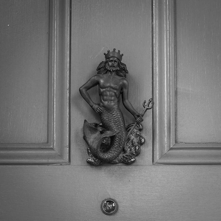 Door Knocker<br /> French Quarter<br /> New Orleans, LA