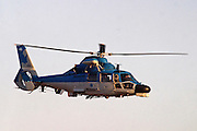 Israeli Air force helicopter, Aerospatiale AS-565 in flight