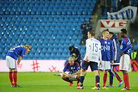 Fotball, Tippeligaen , Eliteserien<br /> Lørdag 9. Mai , 20150509<br /> Vålerenga - Stabæk<br /> Ruben kristiansen etter tap<br /> Foto: Sjur Stølen