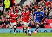 Football - 2021 / 2022 Pre-Season Friendly - Manchester United vs Everton - Old Trafford - Saturday 7th August 2021<br /> <br /> Juan Mata of Manchester United, at Old Trafford.<br /> <br /> COLORSPORT/ALAN MARTIN