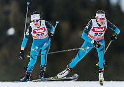 28.01.2018, Seefeld, AUT, FIS Weltcup Langlauf, Seefeld, FIS Weltcup Langlauf, 10 km Sprint, Damen, im Bild Coraline Thomas Hugue (FRA) // Coraline Thomas Hugue of France during ladie's 10 km sprint of the FIS cross country world cup in Seefeld, Austria on 2018/01/28. EXPA Pictures © 2018, PhotoCredit: EXPA/ Stefan Adelsberger