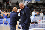 DESCRIZIONE : Beko Legabasket Serie A 2015- 2016 Dinamo Banco di Sardegna Sassari - Olimpia EA7 Emporio Armani Milano<br /> GIOCATORE : Stefano Sardara Jasmin Repesa<br /> CATEGORIA : Before Pregame Ritratto Allenatore Coach Fair Play<br /> EVENTO : Beko Legabasket Serie A 2015-2016<br /> GARA : Dinamo Banco di Sardegna Sassari - Olimpia EA7 Emporio Armani Milano<br /> DATA : 04/05/2016<br /> SPORT : Pallacanestro <br /> AUTORE : Agenzia Ciamillo-Castoria/C.AtzoriCastoria/C.Atzori