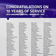 NYU Lutheran 5-10-15-20 Appreciation 12/1/17
