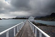 Images from the Lofoten Islands in arctic Norway at midsummer