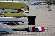 Poznan, POLAND, 20 June 2019, Thursday, General View, Boat Park, FISA World Rowing Cup II, Malta Lake Course, © Peter SPURRIER/Intersport Images,<br /> <br /> 12:40:36