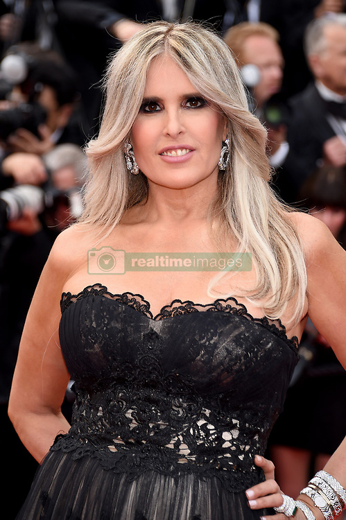 Tiziana Rocca attending the opening ceremony and premiere of The Dead Don't Die, during the 72nd Cannes Film Festival.