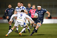 Rugby Union - 2020 / 2021 Gallagher Premiership - Round Nine - Sale Sharks  vs Bath - AJ Bell Stadium<br /> <br /> Sale Sharks' Jono Ross in action during this evening's game.<br /> <br /> COLORSPORT/ASHLEY WESTERN