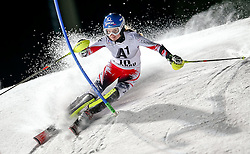 13-01-2015 AUT: Alpine Skiing World Cup, Flachau<br /> Bernadette Schild of Austria in action during 1st run of the ladie's Slalom of the FIS Ski Alpine World Cup at the Hermann Maier Weltcupstrecke in Flachau<br /> <br /> ***NETHERLANDS ONLY***