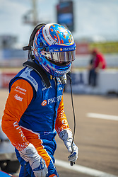 March 9, 2019 - St. Petersburg, Florida, U.S. - SCOTT DIXON (9) of New Zealand prepares for a practice session for the Firestone Grand Prix of St. Petersburg at The Temporary Waterfront Street Course in St. Petersburg Florida. (Credit Image: © Walter G Arce Sr Asp Inc/ASP)