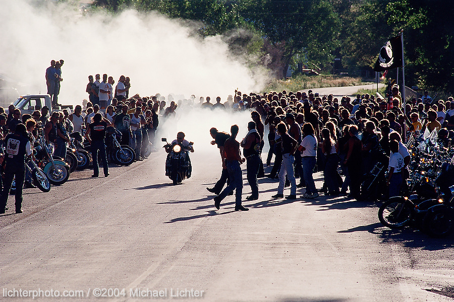 Street Drags, Beulah, Wyoming, 1995<br /> <br /> Limited Edition Print from an edition of 20. Photo ©2000 Michael Lichter.