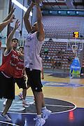 Sassari 14 Agosto 2012 - Qualificazioni Eurobasket 2013 -Allenamento<br /> Nella Foto : MARCO CUSIN<br /> Foto Ciamillo