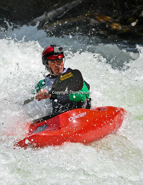 Kayaking Whitewater