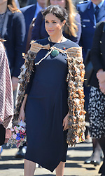 The Duke and Duchess of Sussex arrive for a visit to Te Papaiouru Marae, for a formal powhiri and luncheon in their Royal HighnessesÕ honour in Rotorua, New Zealand, on day four of the royal couple's tour of New Zealand.