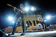 The Bravery performing on the Projekt Revolution Tour. St. Louis, August 21, 2008. © Todd Owyoung/Retna Ltd.