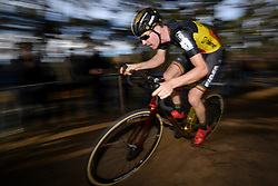 February 24, 2019 - Oostmalle, BELGIUM - Belgian Toon Aerts pictured in action during the men's elite race at the 'Internationale Sluitingsprijs Oostmalle' cyclocross race, Sunday 24 February 2019, in Oostmalle, the last race of the 2018-2019 season. BELGA PHOTO DAVID STOCKMAN (Credit Image: © David Stockman/Belga via ZUMA Press)