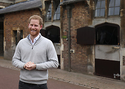 File photo dated 06/05/19 of the Duke of Sussex speaking at Windsor Castle in Berkshire after the Duchess of Sussex gave birth to a baby boy weighing 7lbs 3oz. Archie Mountbatten-Windsor, who is the Queen and the Duke of Edinburgh's eighth great-grandchild, is celebrating his first birthday today.