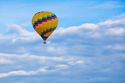 United States, Arizona, Sedona, hot air balloon in sky