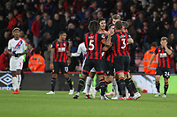 Football - 2018 / 2019 Premier League - AFC Bournemouth vs. Crystal Palace<br /> <br /> Tempers flare up at the final whistle between the two set of players at the Vitality Stadium (Dean Court) Bournemouth <br /> <br /> COLORSPORT/SHAUN BOGGUST