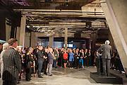 CHRIS DERCON, The Tanks at Tate Modern, opening. Tate Modern, Bankside, London, 16 July 2012