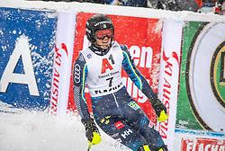 08.01.2019, Hermann Maier Weltcupstrecke, Flachau, AUT, FIS Weltcup Ski Alpin, Slalom, Damen, 2. Lauf, im Bild Anna Swenn Larsson (SWE, 3. Platz) // third placed Anna Swenn Larsson of Sweden reacts after her 2nd run of ladie's Slalom of FIS ski alpine world cup at the Hermann Maier Weltcupstrecke in Flachau, Austria on 2019/01/08. EXPA Pictures © 2019, PhotoCredit: EXPA/ Johann Groder