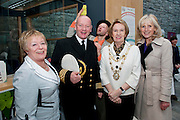 Galway launches 200 Gatherings ! Come home to Irelands Cultural Heart  with help ofCarmel Brennan Galway Sea Festival Galway Harbour Master Captain Brian Sheridan Galway City Mayor Terry O Flaherty Carmel Dooley Galway Sea Festival   at Aras An Contae. Picture Andrew Downes..